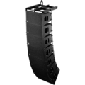Long line-array d'enceintes Q1 (avant)