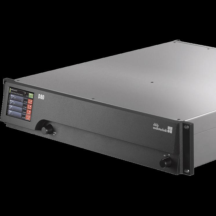 D80 amplifier   d&b audiotechnik on