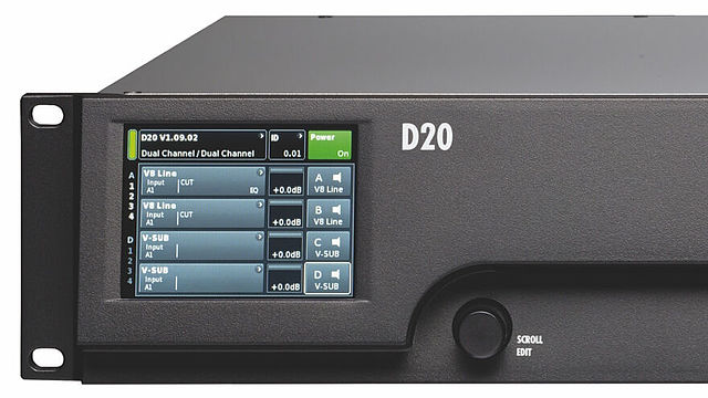 Prolight + Sound 2015: The new d&b audiotechnik D20 amplifier offers performance and ease of use