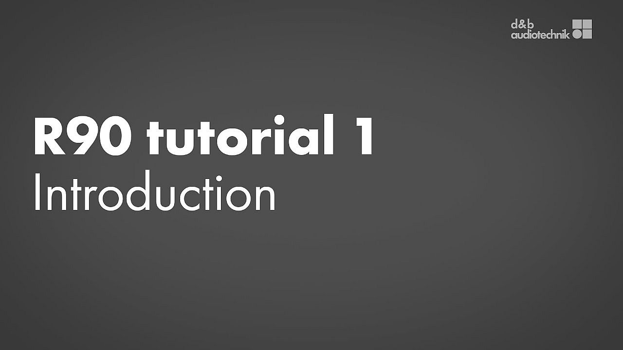 R90 tutorial. 1. Introduction