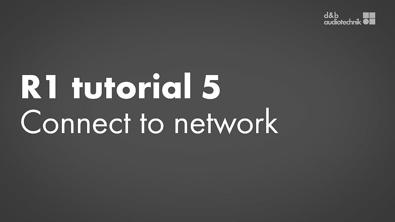R1 tutorial. 5. Connect to a remote network
