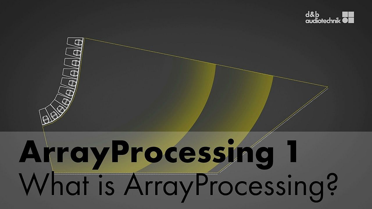 ArrayProcessing tutorial. 1. What is ArrayProcessing?