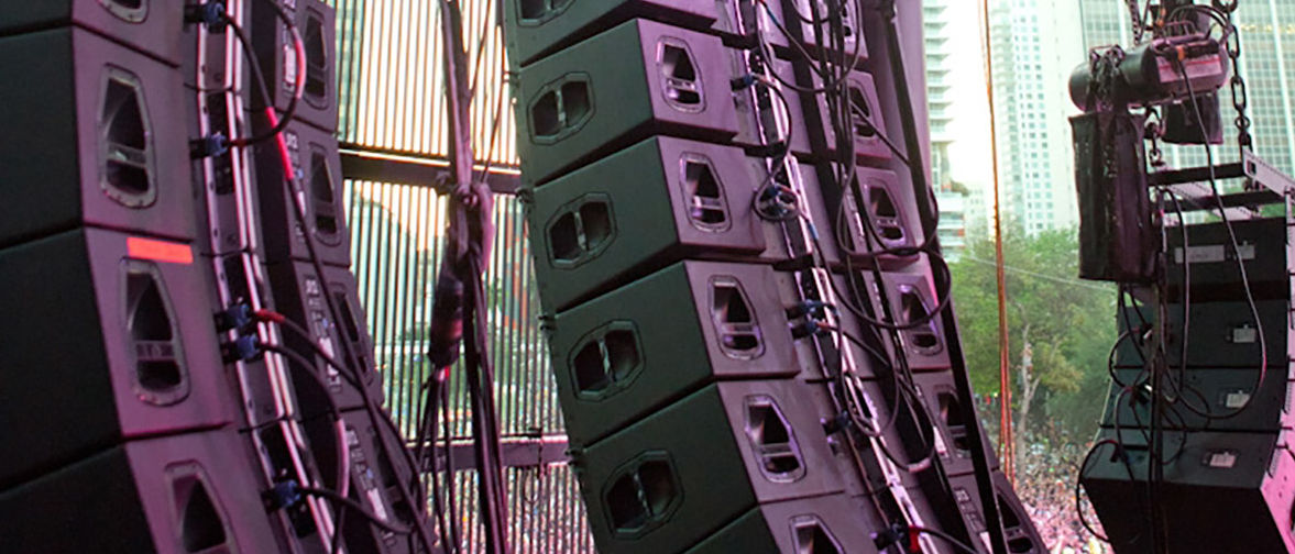 d&b sub frequencies deliver at Ultrafest