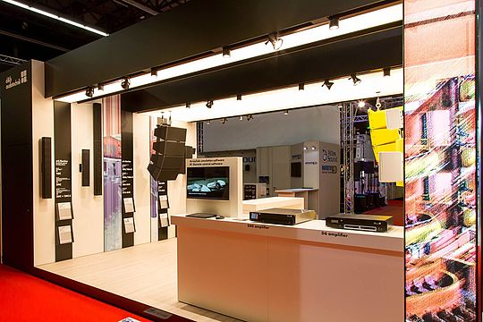ISE: d&b installation solutions take centre stage in Amsterdam