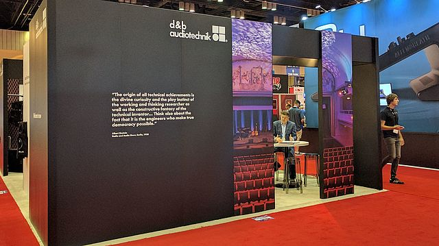 d&b audiotechnik audio solutions and future evolutions at InfoComm 2017