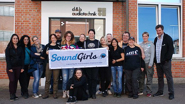 Real soundgirls meet System reality - d&b audiotechnik