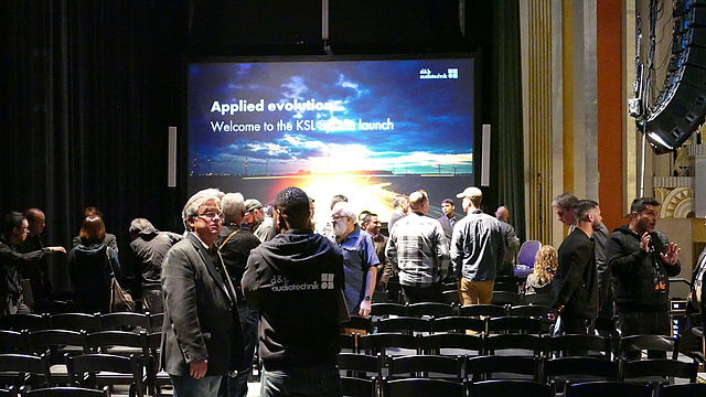d&b audiotechnik KSL system sparkles at Pre NAMM Launch event 2019