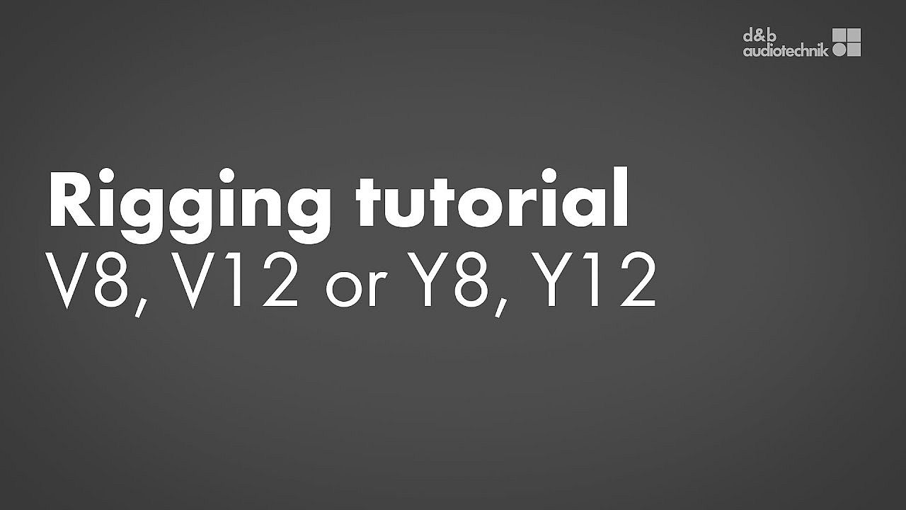 Rigging tutorial. V8, V12 or Y8, Y12