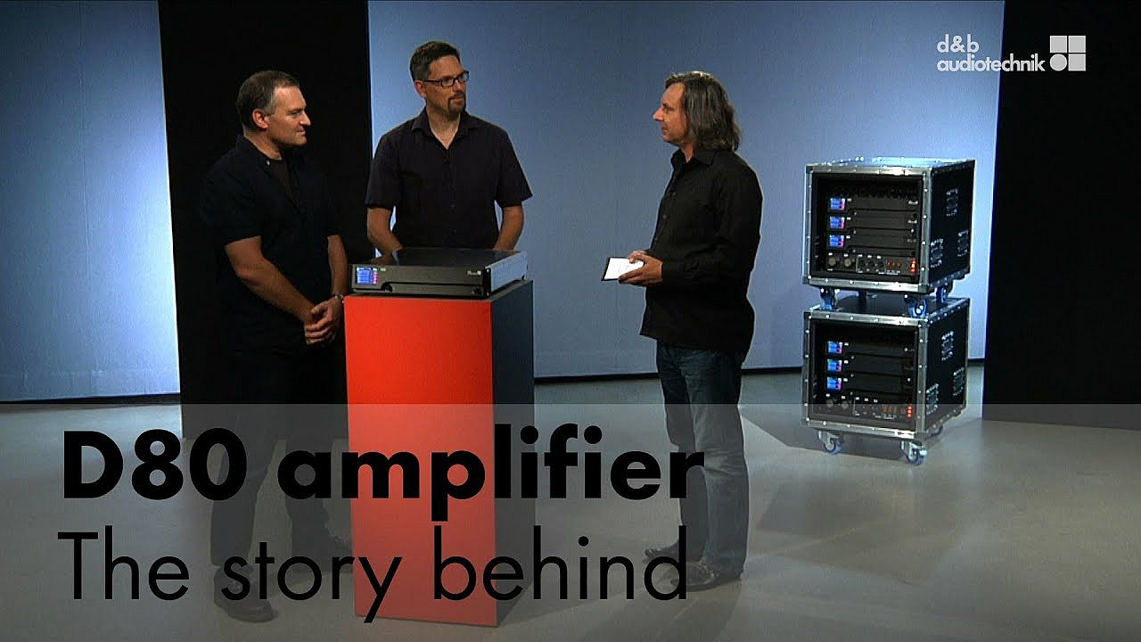 D80 amplifier. The story behind