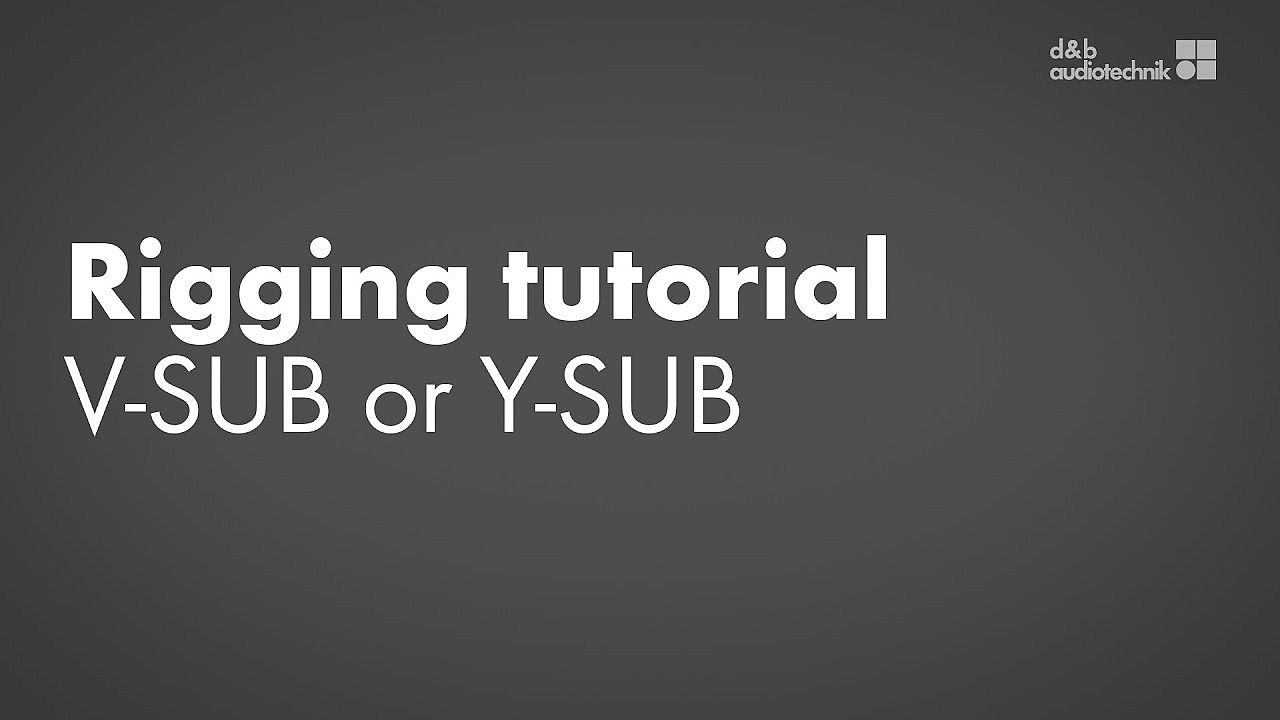 Rigging tutorial. V-SUB or Y-SUB