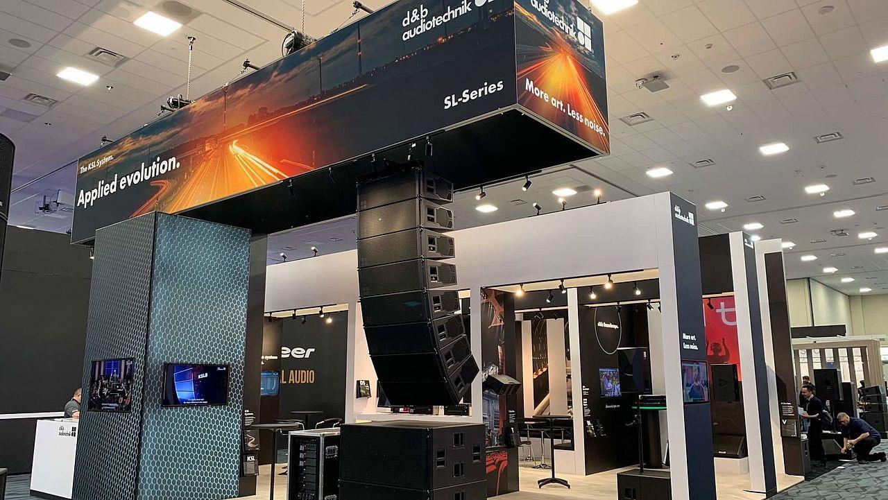 NAMM alive with the sound of KSL | d&b audiotechnik